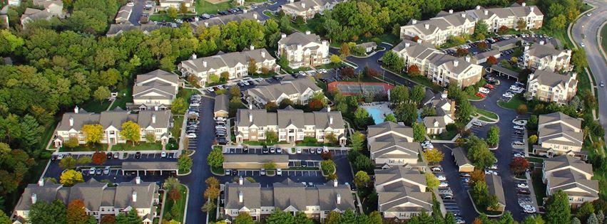 Lexington Farms aerial view