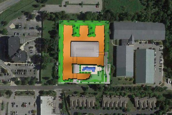 Flats at Springhurst site map