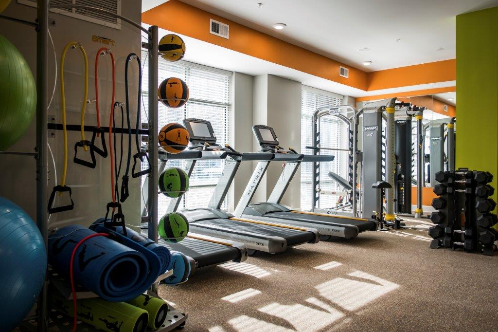 Axis Fitness Room