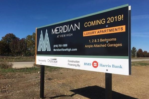 Meridian Coming Soon Sign