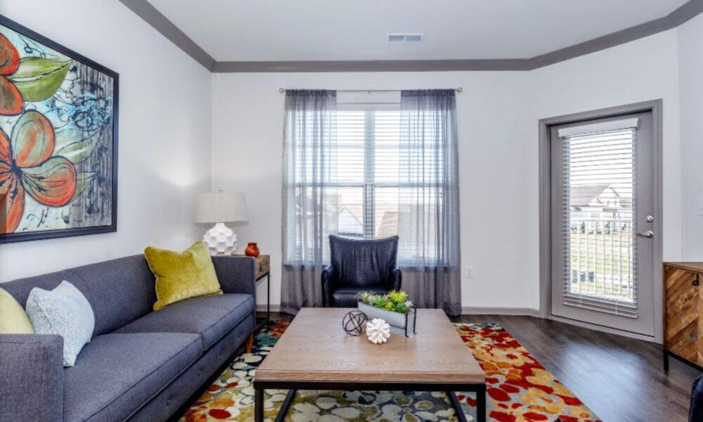 Furnished apartment interior